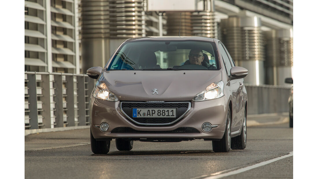Peugeot 208 68 VTi, Frontansicht