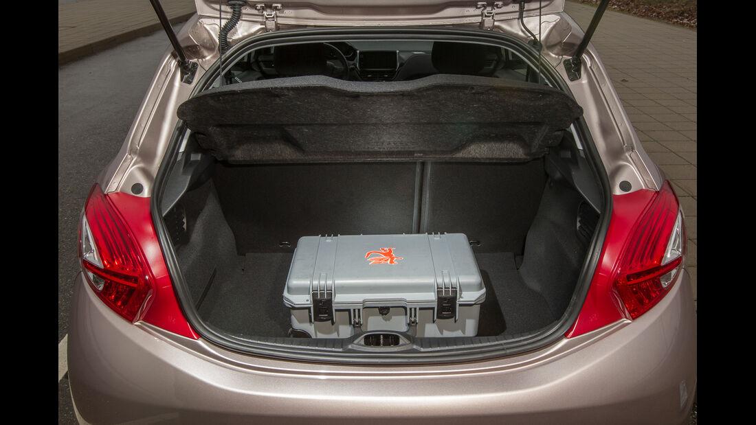 Peugeot 208 68 VTi, Kofferraum