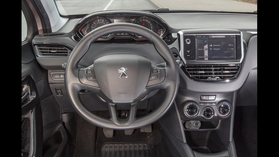 Peugeot 208 68 VTi, Lenkrad
