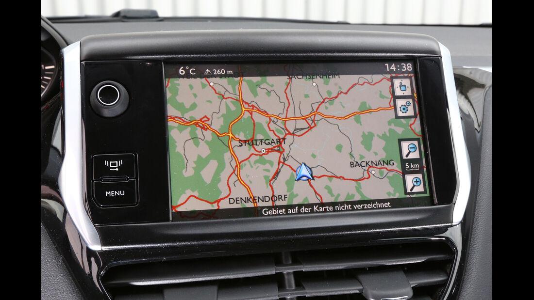 Peugeot 208 82 VTi Active, Navi, Display