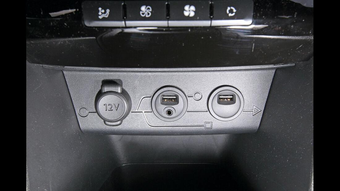 Peugeot 208 82 Vti, Anschlüsse