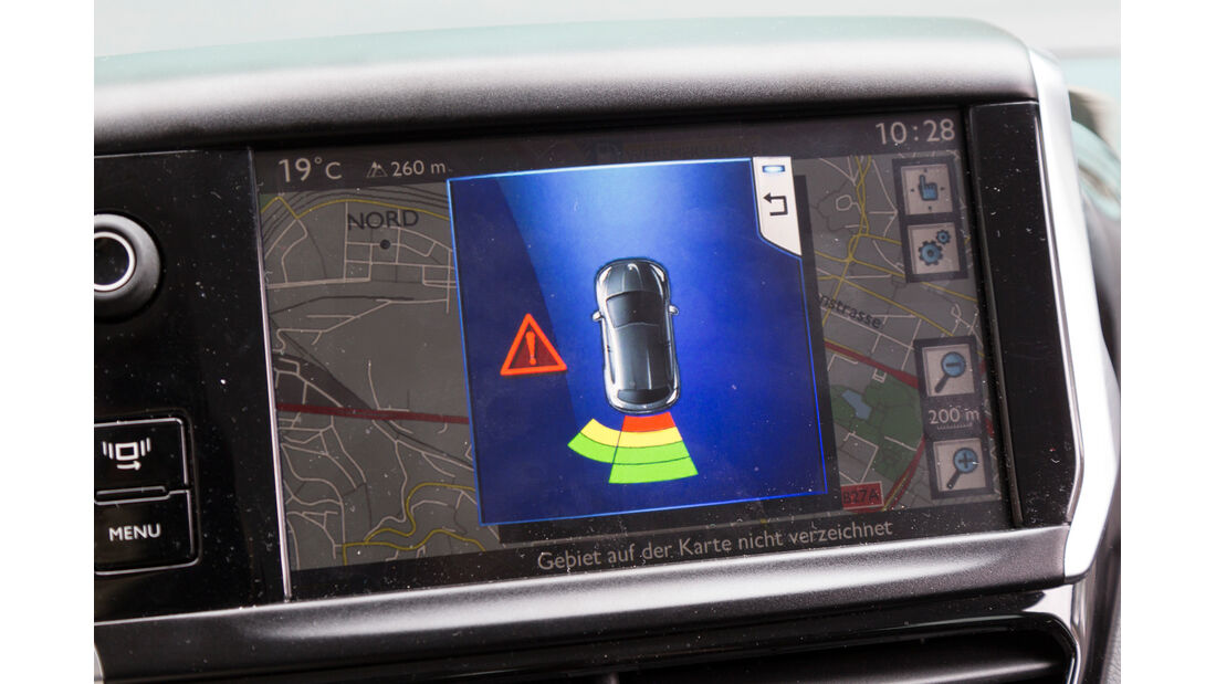 Peugeot 208 82 Vti, Einparkhilfe