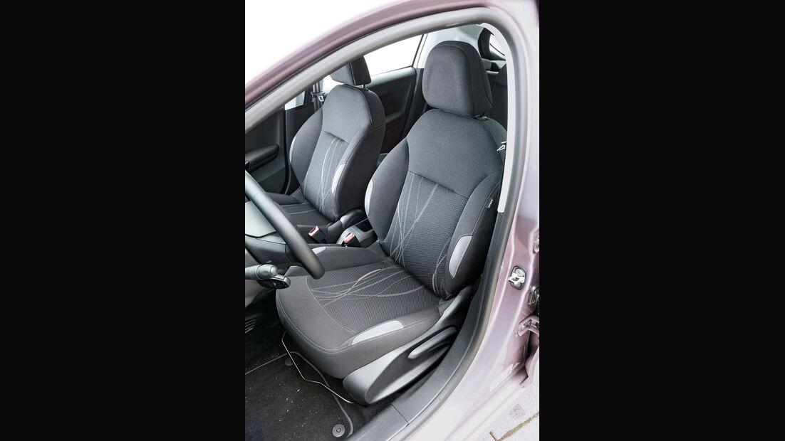 Peugeot 208 82 Vti, Fahrersitz
