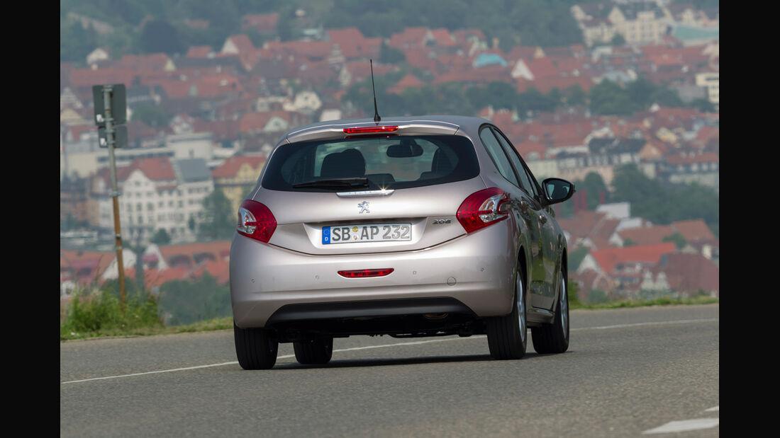 Peugeot 208 82 Vti, Heck
