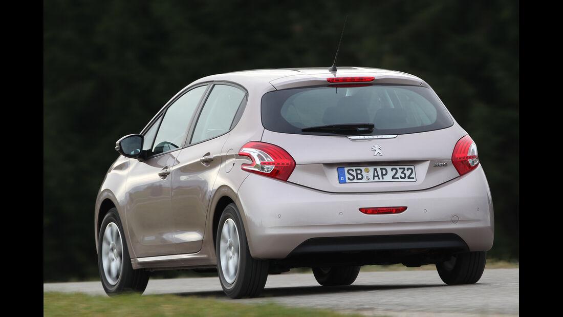 Peugeot 208 82 Vti, Heckansicht