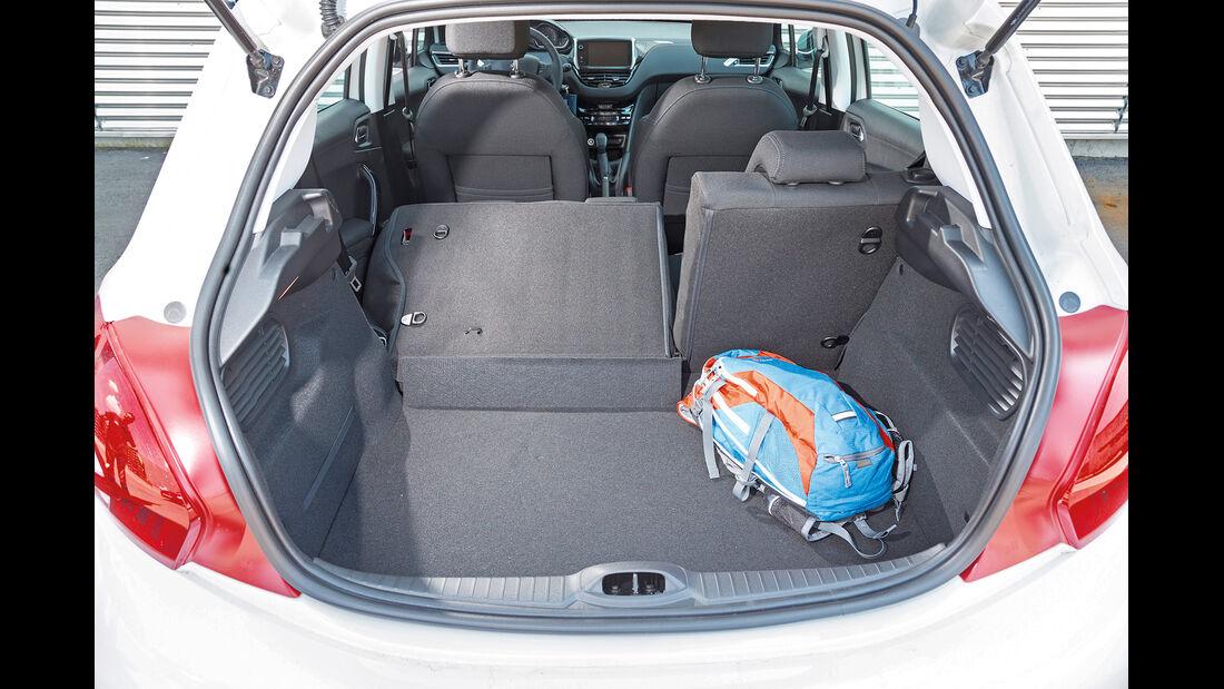Peugeot 208 82 Vti, Kofferraum