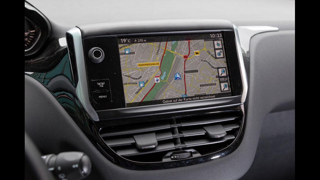 Peugeot 208 82 Vti, Navi, Bildschirm