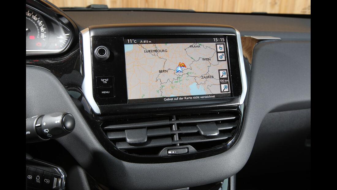 Peugeot 208 82 Vti, Navi, Display