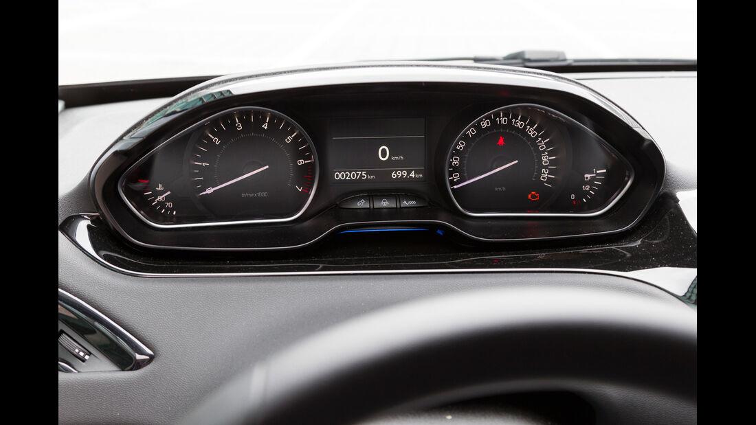 Peugeot 208 82 Vti, Tacho, Rundinstrumente