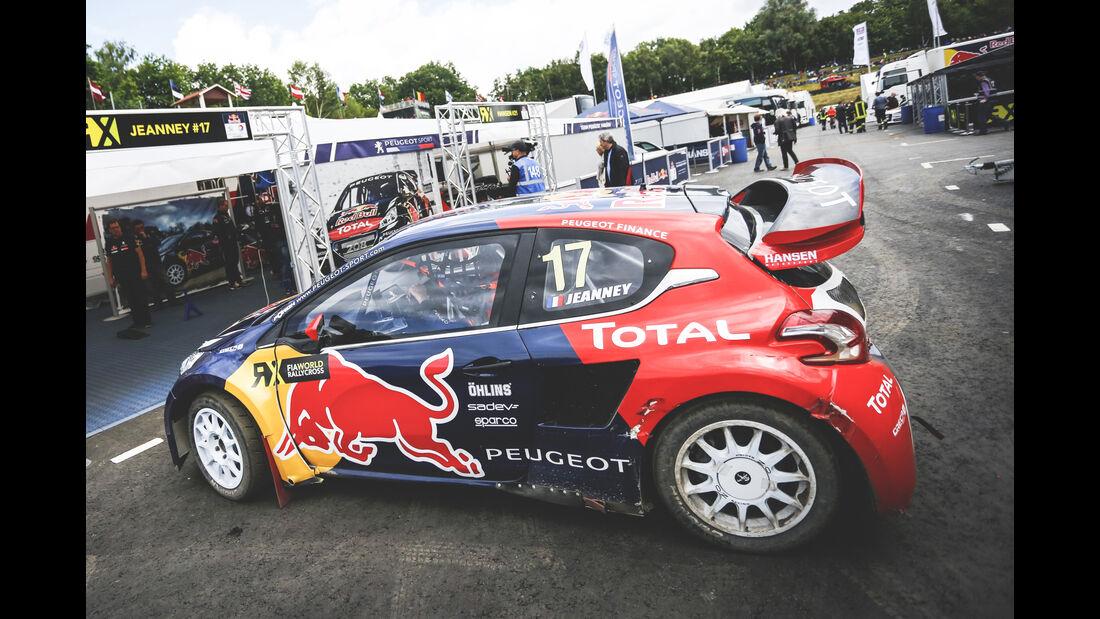 Peugeot 208 FIA RallyCross - Heckflügel
