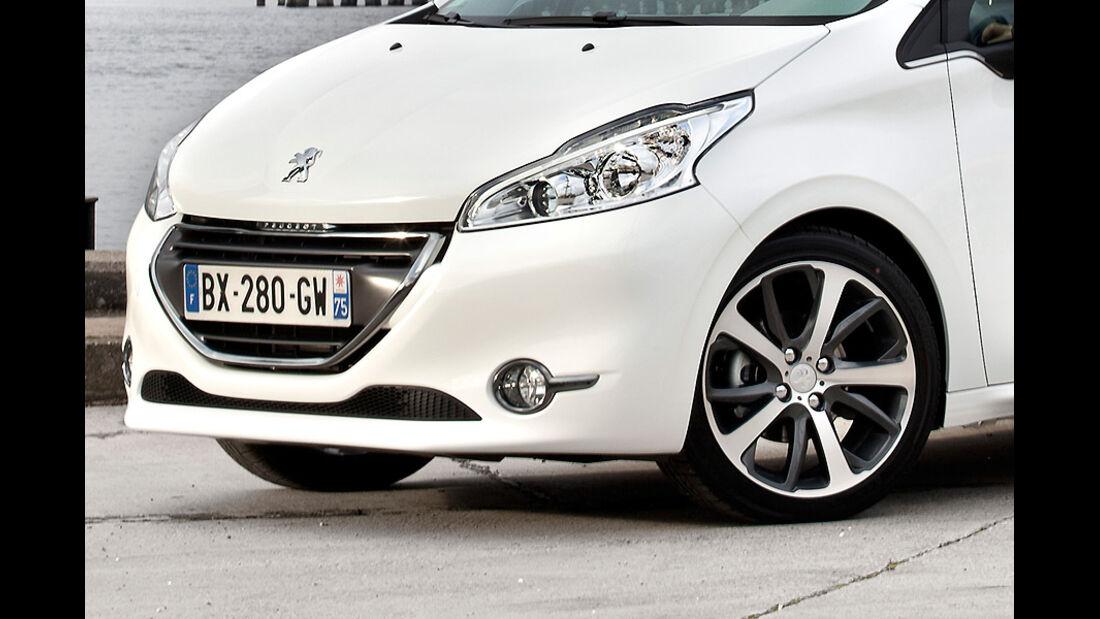Peugeot 208, Felge, Scheinwerfer, Kühlergrill