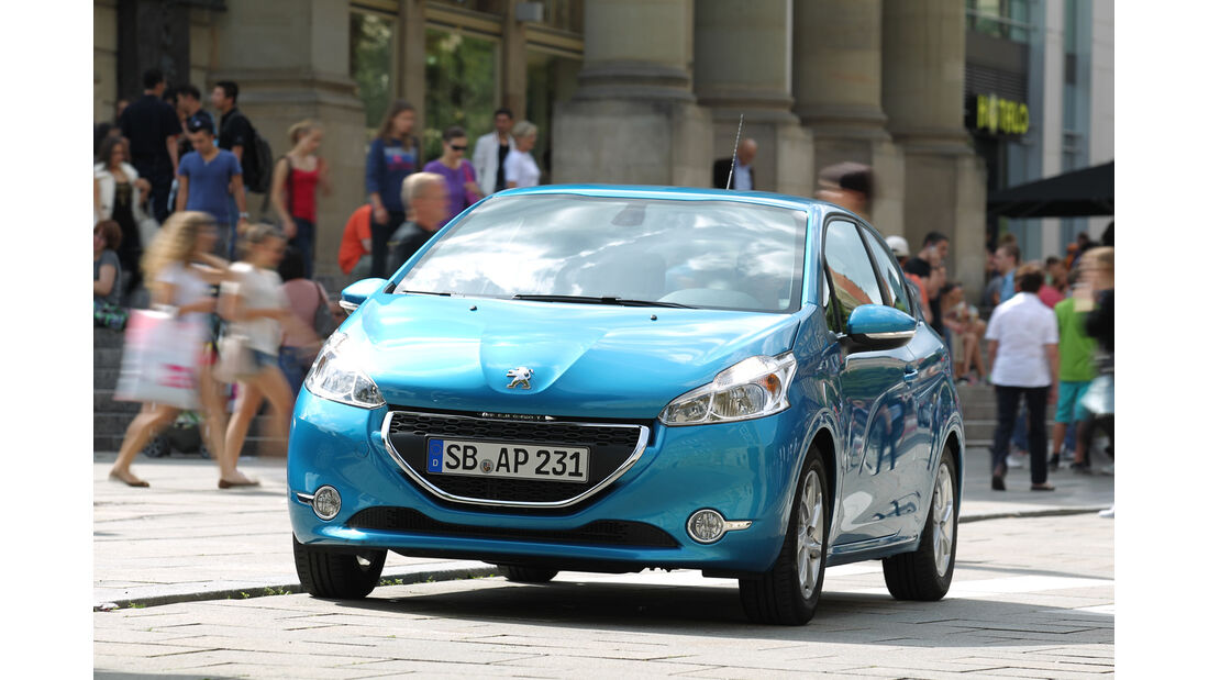 Peugeot 208, Frontansicht