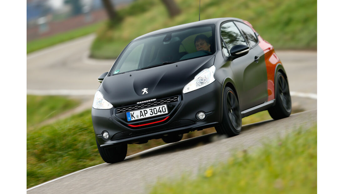 Peugeot 208 GTi 30th, Frontansicht