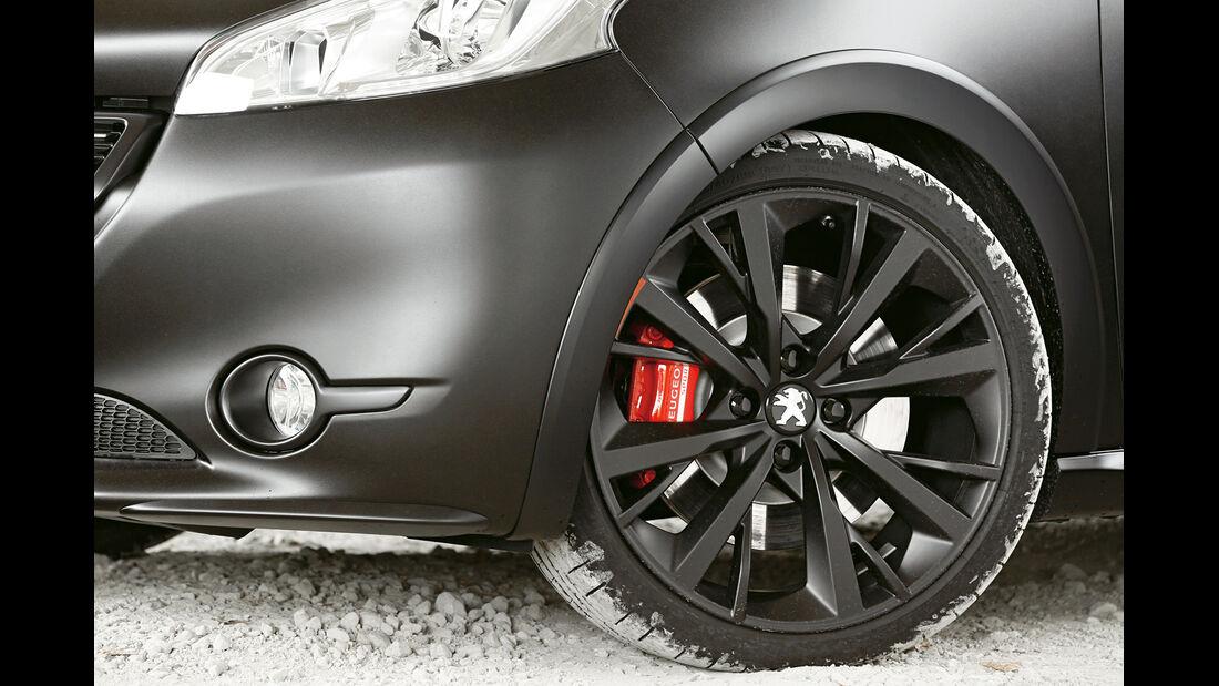 Peugeot 208 GTi 30th, Rad, Felge