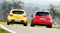 Peugeot 208 GTi 30th, Renault Clio R.S., Heckansicht
