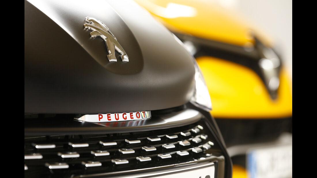 Peugeot 208 GTi 30th, Renault Clio R.S., Kühlergrill