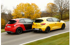 Peugeot 208 GTi 30th, Renault Clio R.S., Seitenansicht
