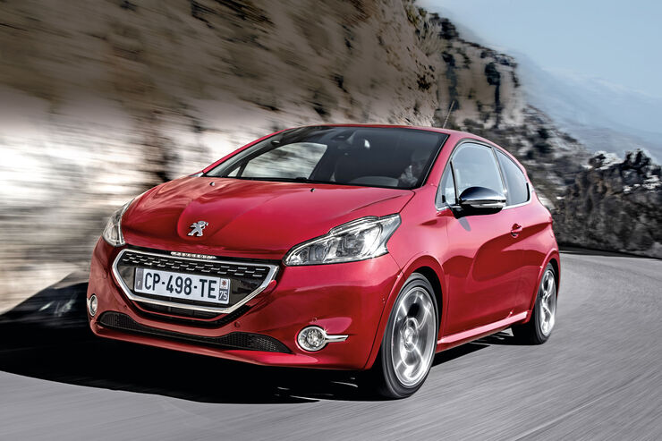 Peugeot 208 GTi, Frontansicht