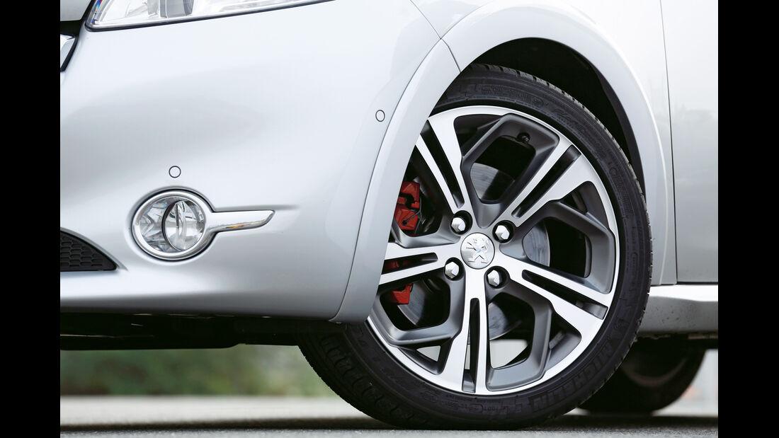 Peugeot 208 GTi, Rad, Felge, Bremse