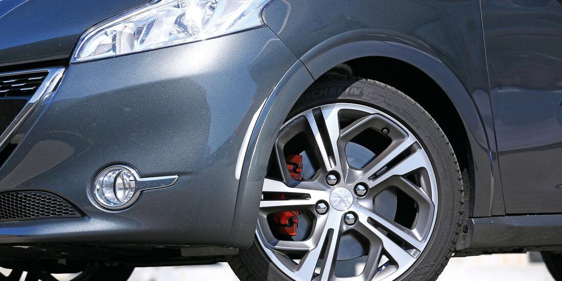 Peugeot 208 GTi, Rad, Felge