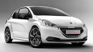 Peugeot 208 Hybrid FE Studie