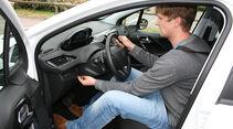 Peugeot 208, Innenraum-Check, Fahrersitz