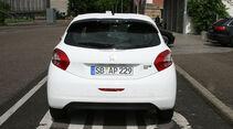 Peugeot 208, Innenraum-Check, Heck