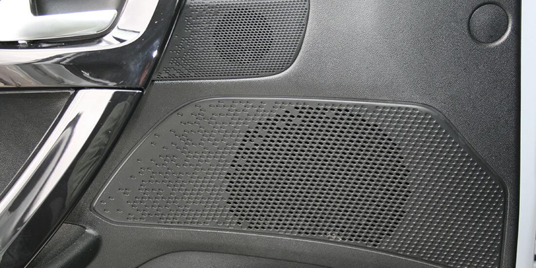 Peugeot 208, Innenraum-Check, Lautsprecher