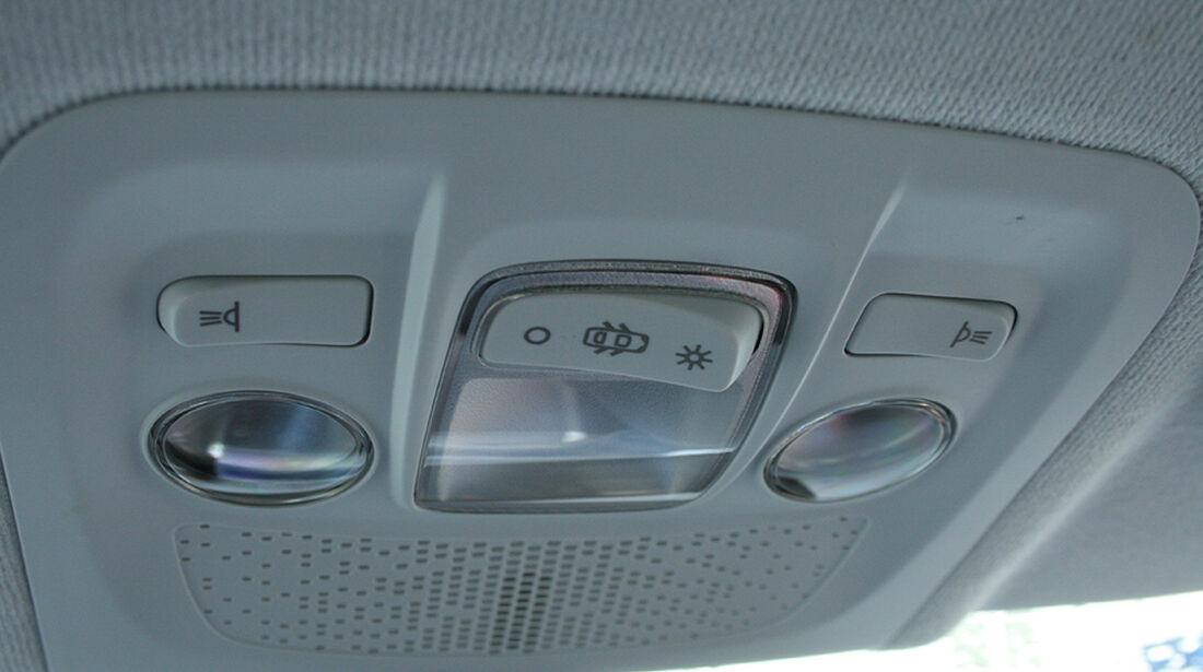 Peugeot 208, Innenraum-Check, Licht Innenraum