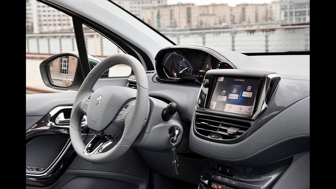Peugeot 208, Innenraum, Cockpit