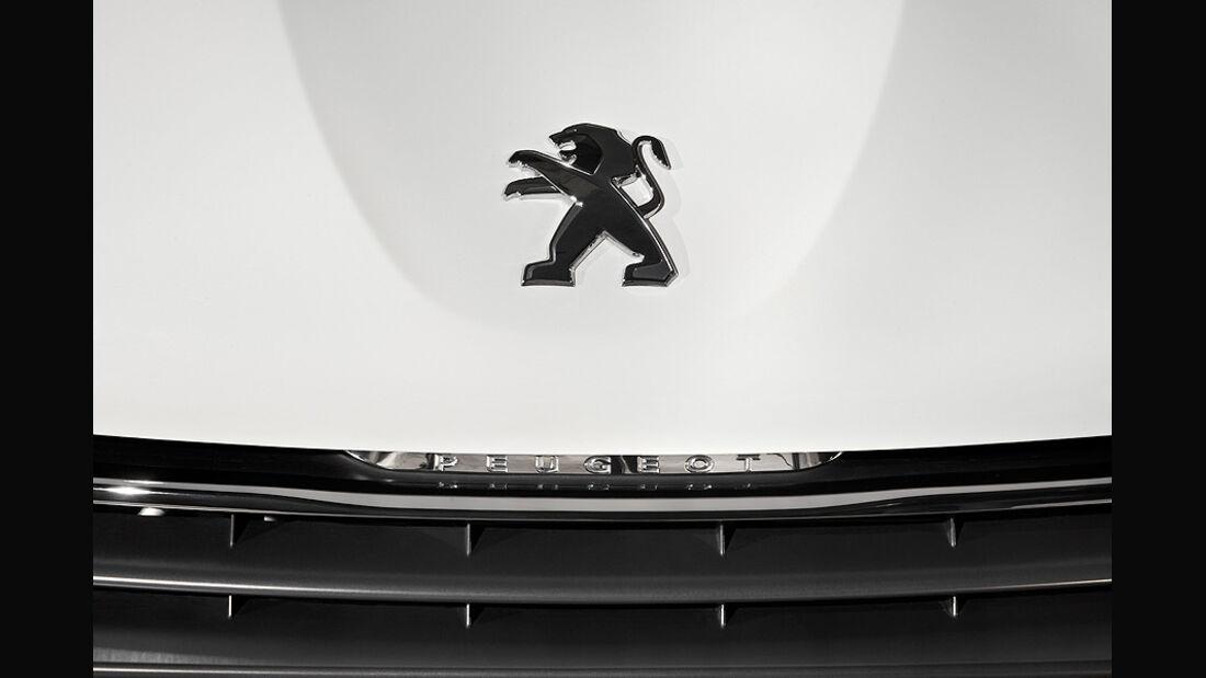 Peugeot 208, Logo