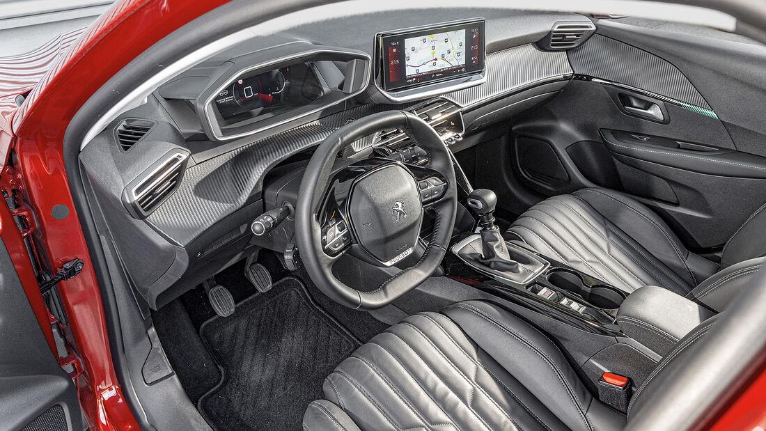 Peugeot 208 Puretech 100, Interieur