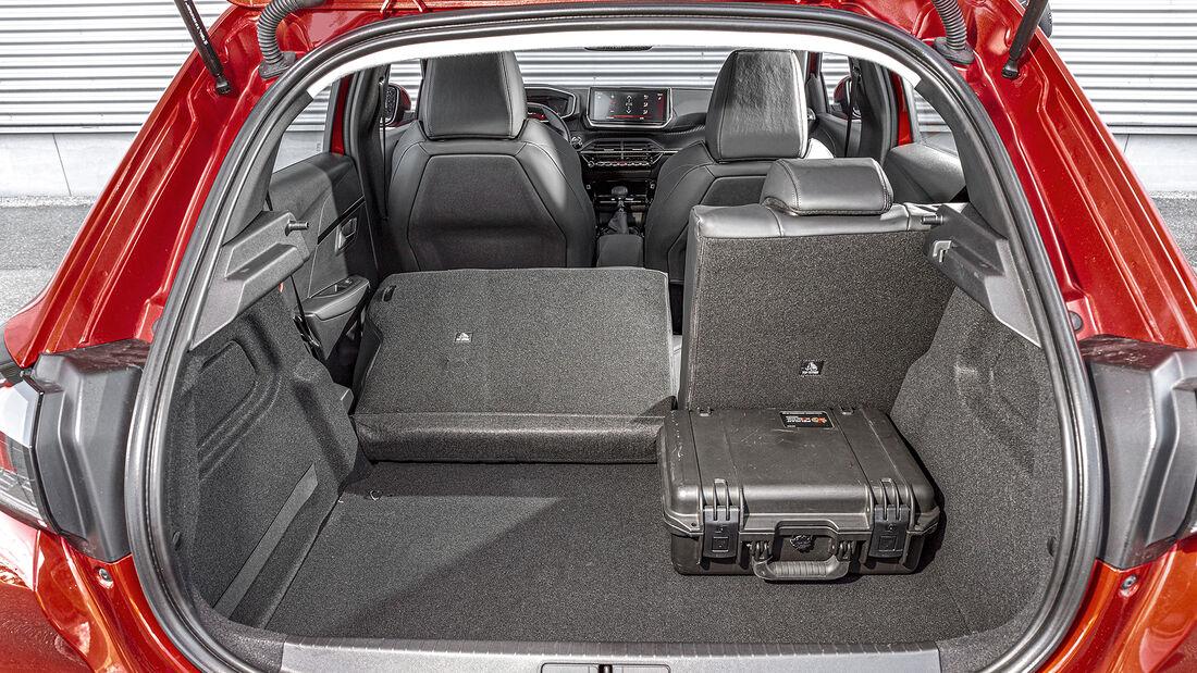 Peugeot 208 Puretech 100, Kofferraum
