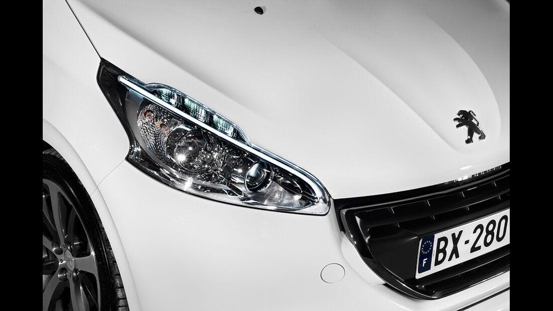 Peugeot 208, Scheinwerfer