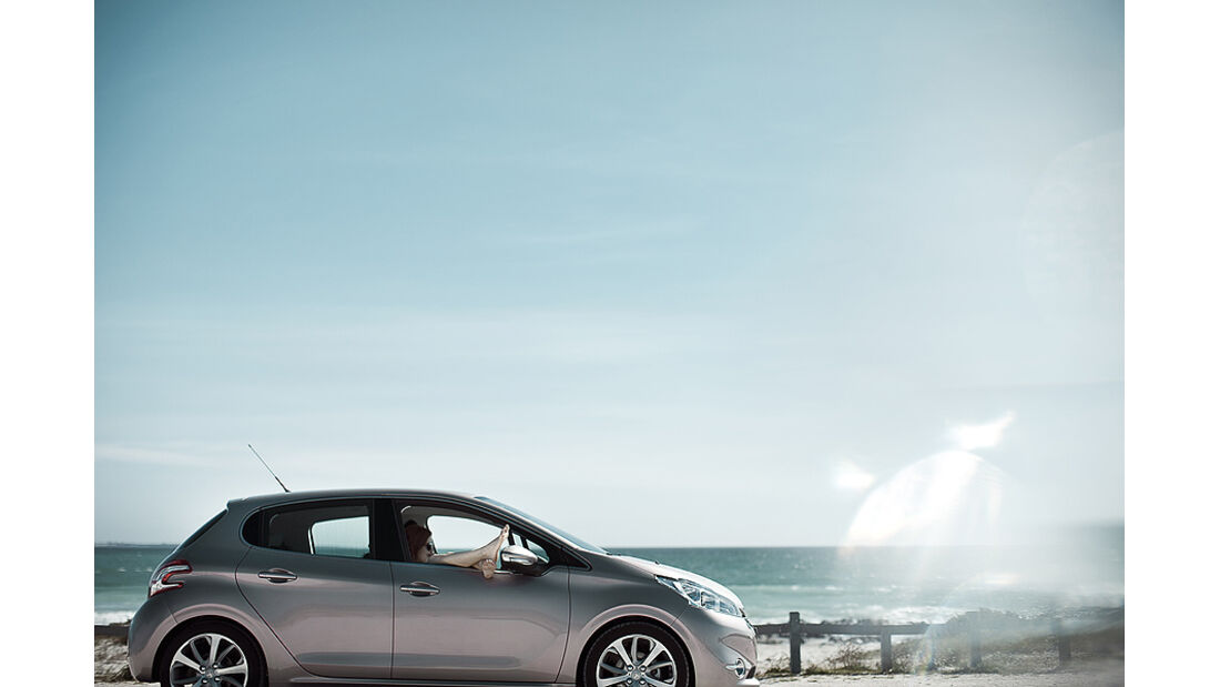 Peugeot 208, Seitenansicht