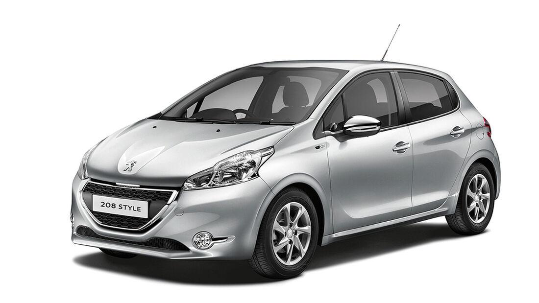 Peugeot 208 Style Sondermodell