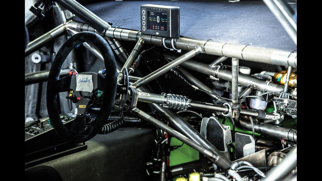 Peugeot 208 T16, Pikes Peak, Cockpit