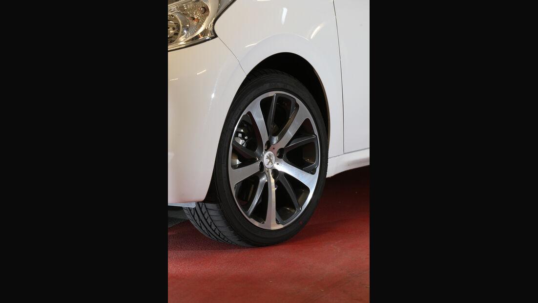 Peugeot 208 THP 155 Allure, Rad, Felge