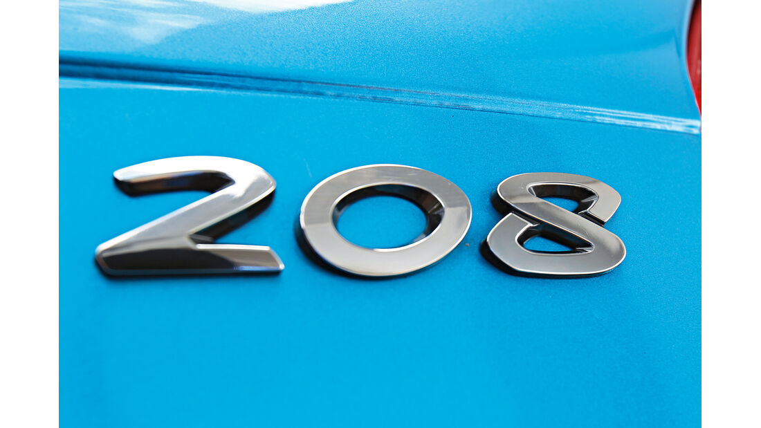 Peugeot 208, Typenbezeichnung