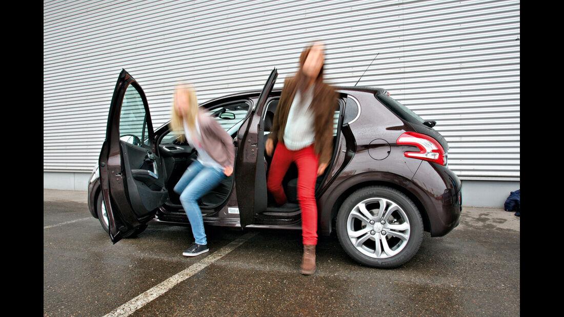 Peugeot 208 e-HDi 115 Allure, Seitentüren