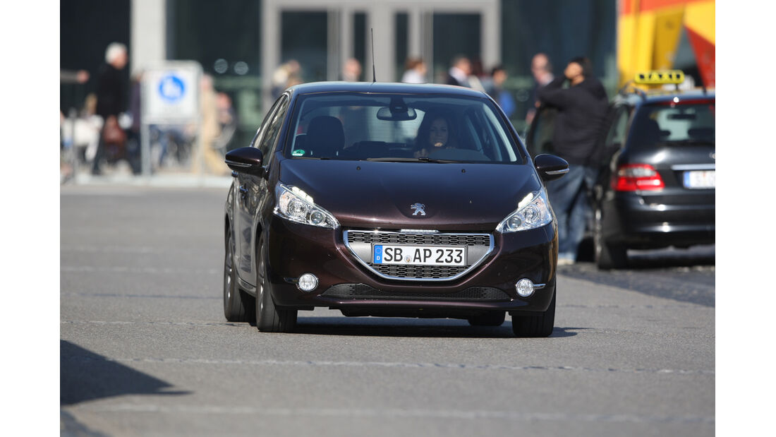 Peugeot 208 e-Hdi 115, Frontansicht