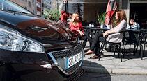 Peugeot 208 e-Hdi 115, Motorhaube, Cafe