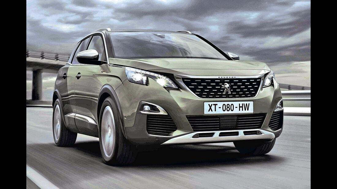 Peugeot 3008, Best Cars 2020, Kategorie I Kompakte SUV/Geländewagen