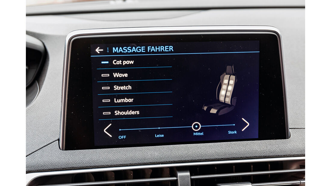 Peugeot 3008 BlueHDi 180, Infotainment