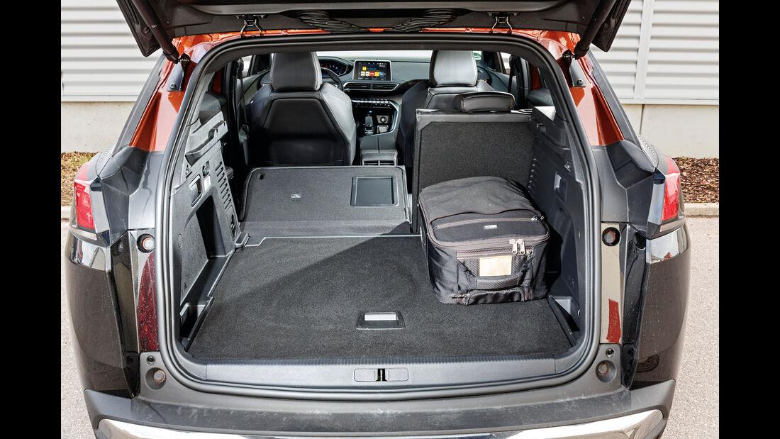 Peugeot 3008 BlueHDi 180, Kofferraum