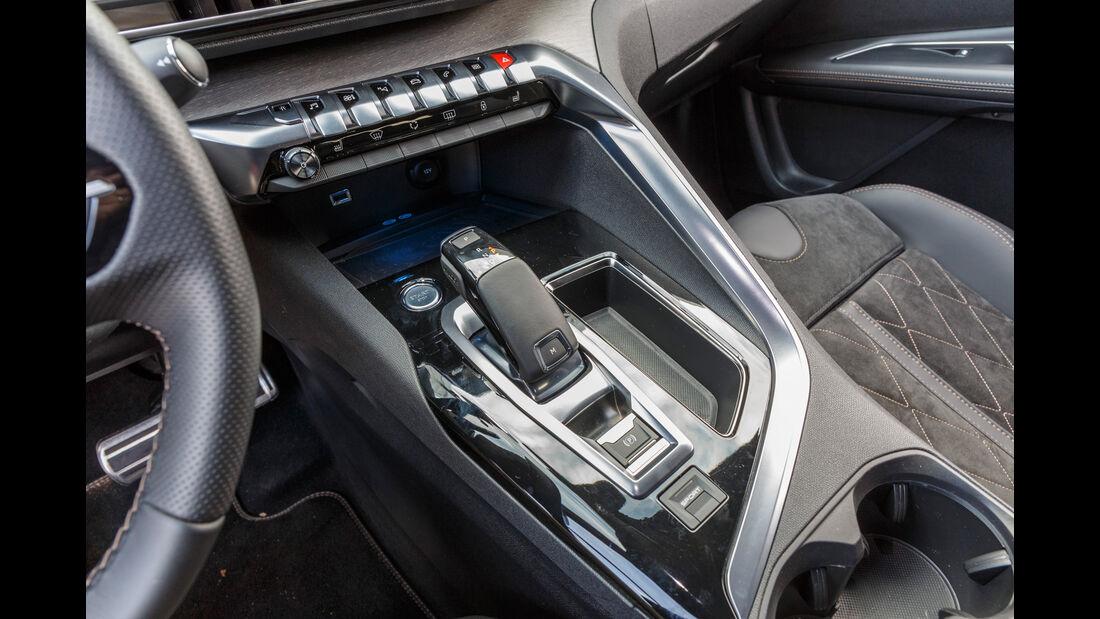 Peugeot 3008 BlueHDi 180, Schalthebel