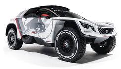 Peugeot 3008 DKR für Dakar 2017
