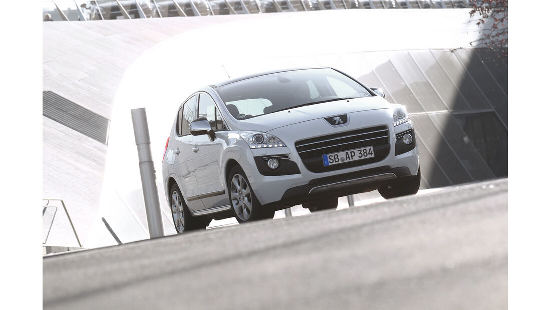 Peugeot 3008, Frontansicht