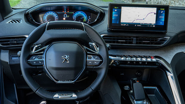 Peugeot 3008 Hybrid 225 e, Interieur