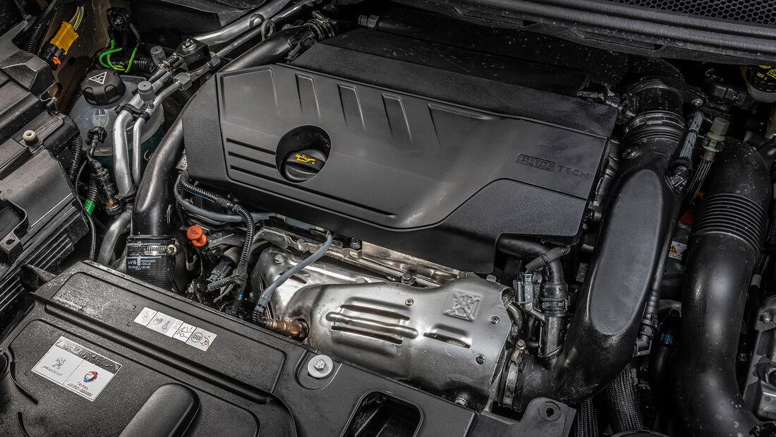 Peugeot 3008 Hybrid 300e, Motor